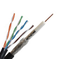 IMAGE: Cat5e + RG6/U Quad, PTZ Combo Cable