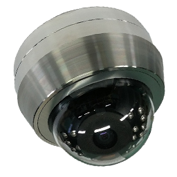 IMAGE: Rugged Dome Stainless Steel HD-TVI Megapixel Camera
