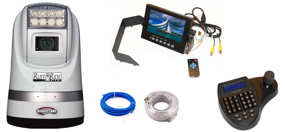 IMAGE: PTZ Camera & Waterproof Monitor Package