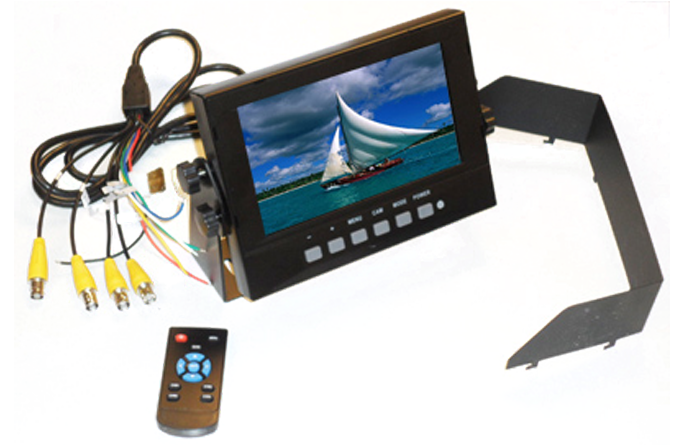 IMAGE: 7 inch waterproof monitor by Rugged Cams