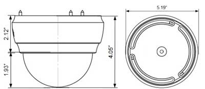 IMAGE: Camera Dimensions drawing