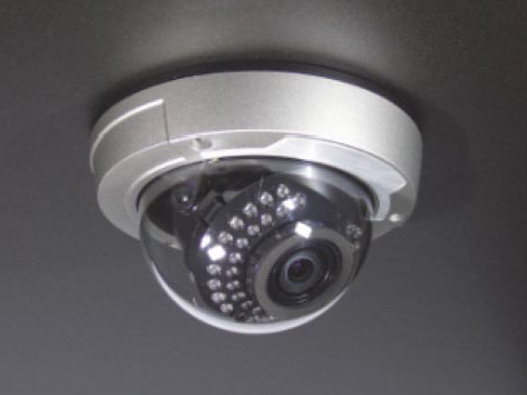 flush mount - Sentry 700 Dome Camera