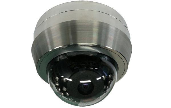 rugged domes stainless steel dome camera 600x381 - HD-TVI Stainless Steel Infrared Dome Cameras