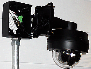 sentry mount open - Sentry 700 Dome Camera