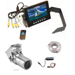 wp monitor viewing 4channel 1 - 4 Channel Single Camera Waterproof Package
