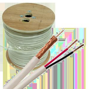 rg59 siamese lg - RG59/U + 18/2 Siamese - 500' or 1000' Spool