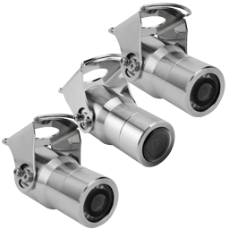 stronghold analog cameras 1 - Stainless Steel Bullet Cameras